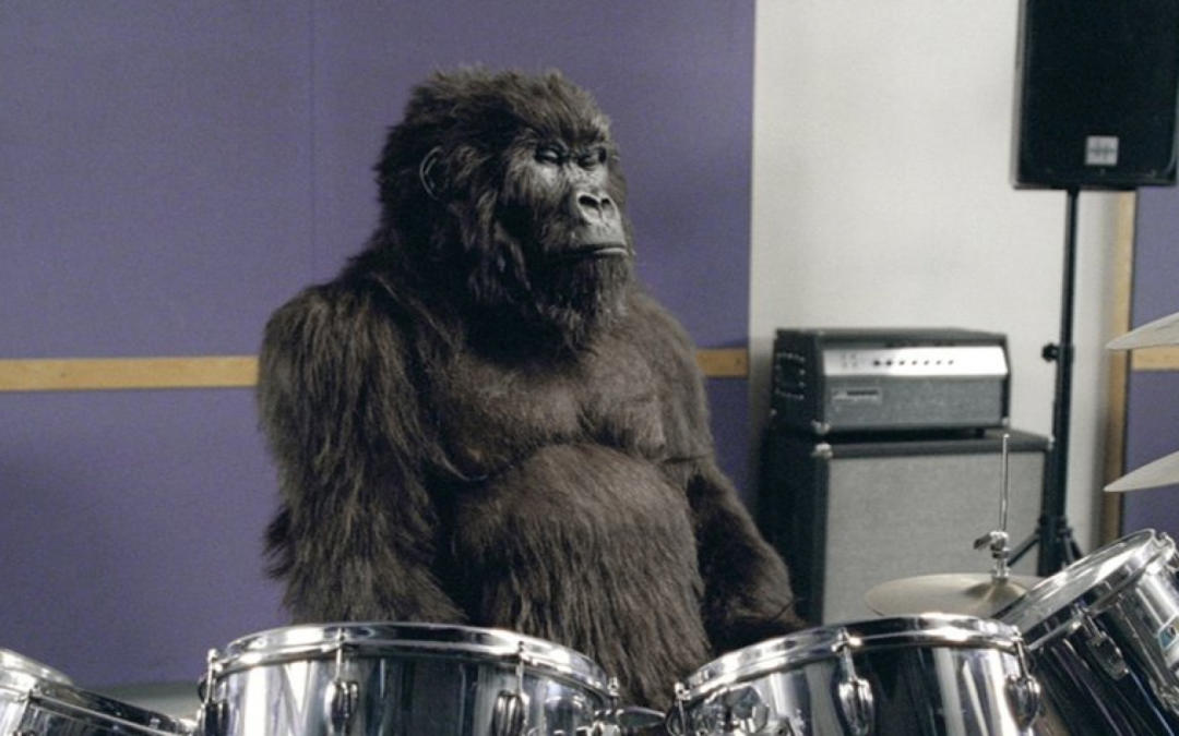 Chocolate = Gorilla + Drums